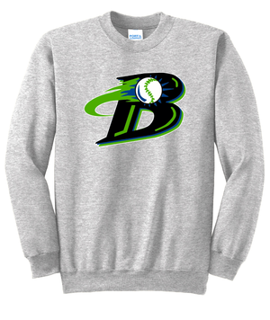 Michigan Blast Elite Baseball  Crew Neck Sweater