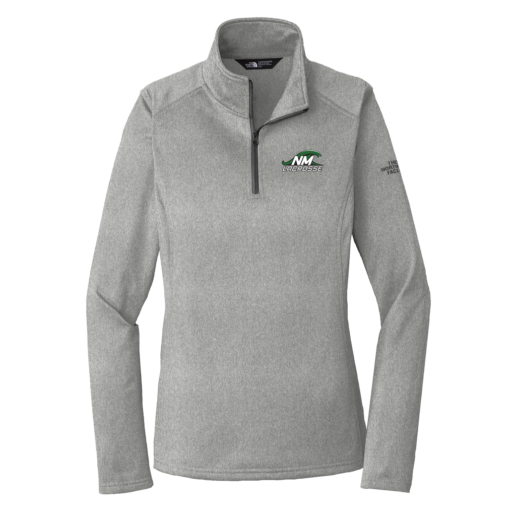 New Milford Youth Lacrosse The North Face Ladies Tech 1/4 Zip