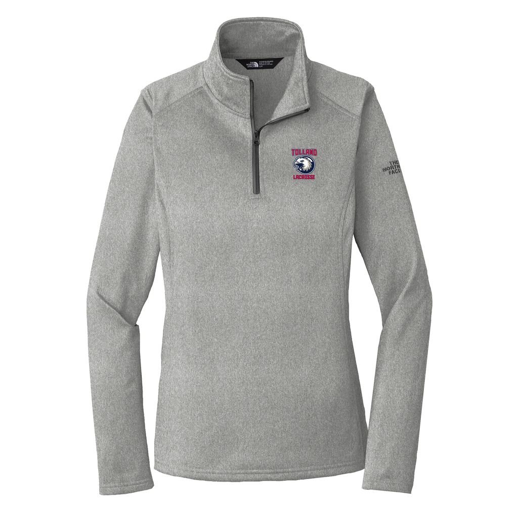Tolland Lacrosse Club The North Face Ladies Tech 1/4 Zip