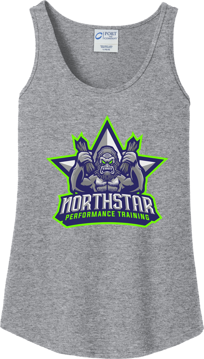 Northstar Performance Training Women's Athletic Heather Tank Top