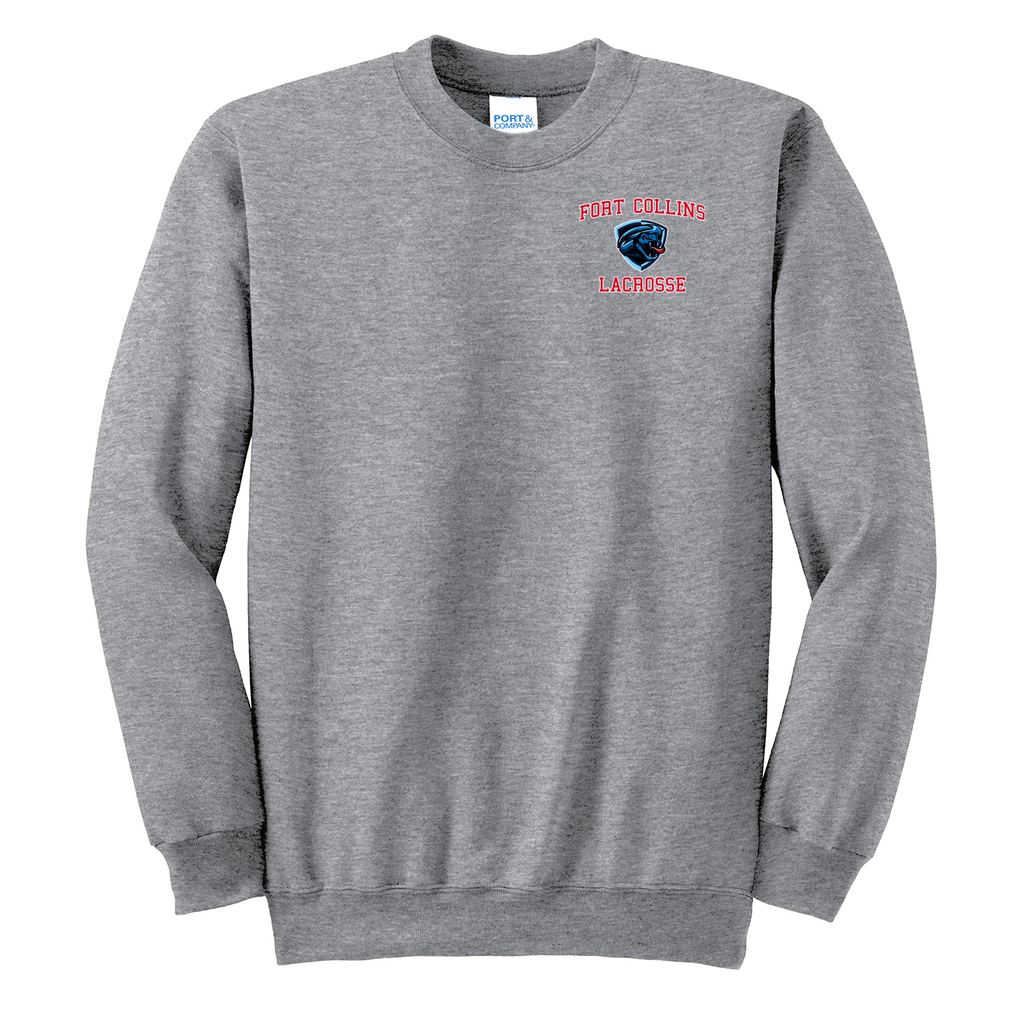 Fort Collins Lacrosse  Crew Neck Sweater