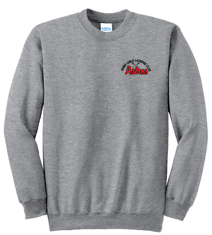Derry Girls Lacrosse Athletic Heather Crew Neck Sweater