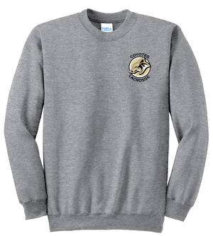 Dane County Lacrosse Grey Crew Neck Sweatshirt