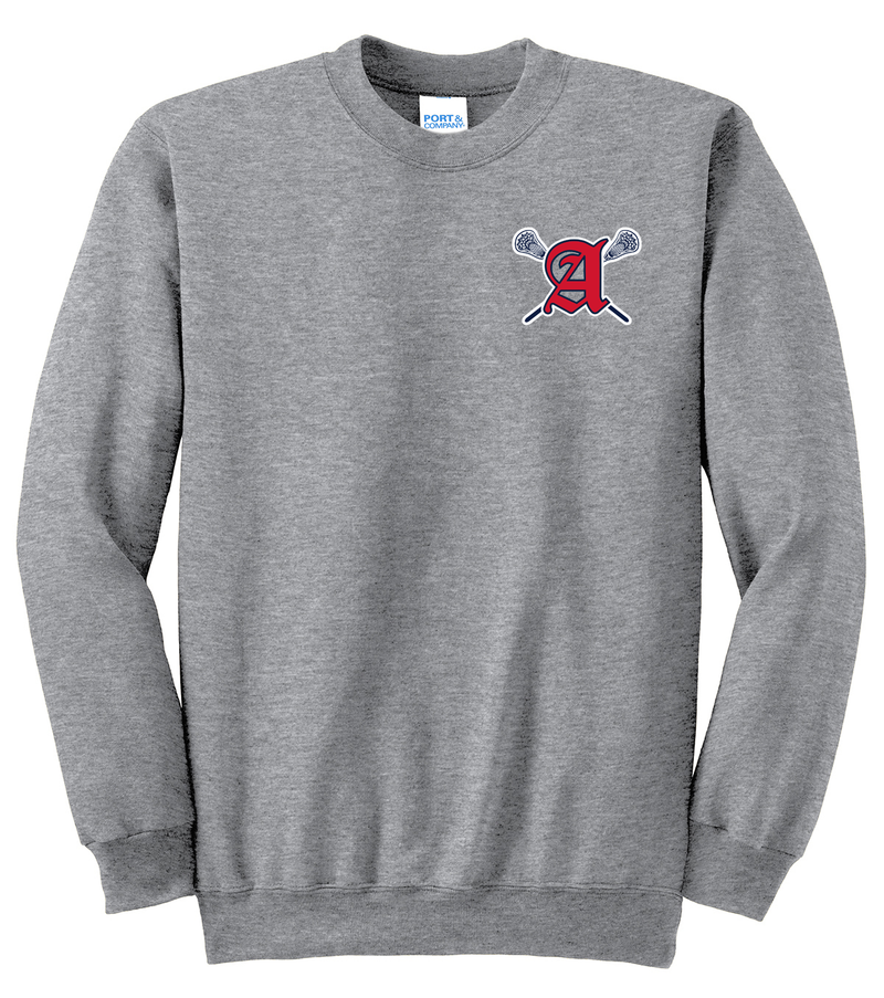 Augusta Patriots Athletic Heather Crew Neck Sweater