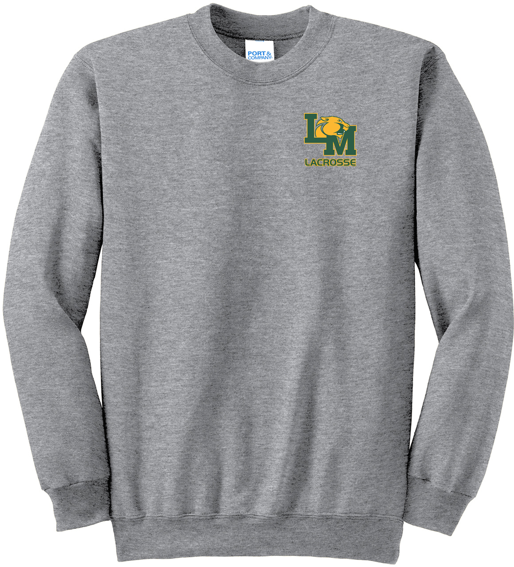Little Miami Lacrosse Athletic Heather Crew Neck Sweater