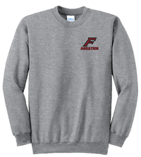 Farmington Aquatics Athletic Heather Crew Neck Sweater