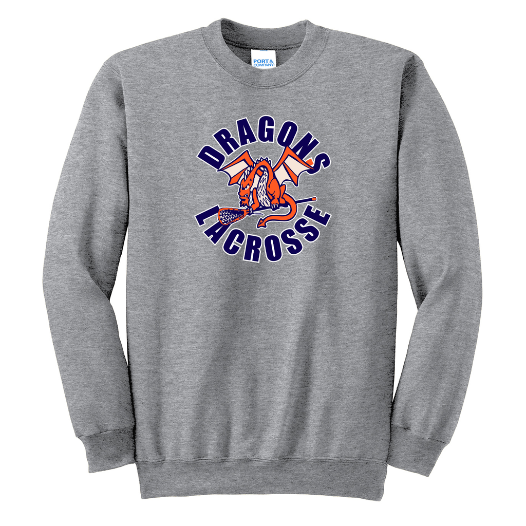 St Petes Dragons Lacrosse  Crew Neck Sweater