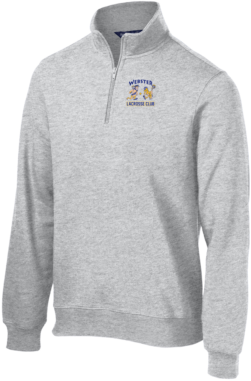 Webster Lacrosse Men's Athletic Heather 1/4 Zip Fleece