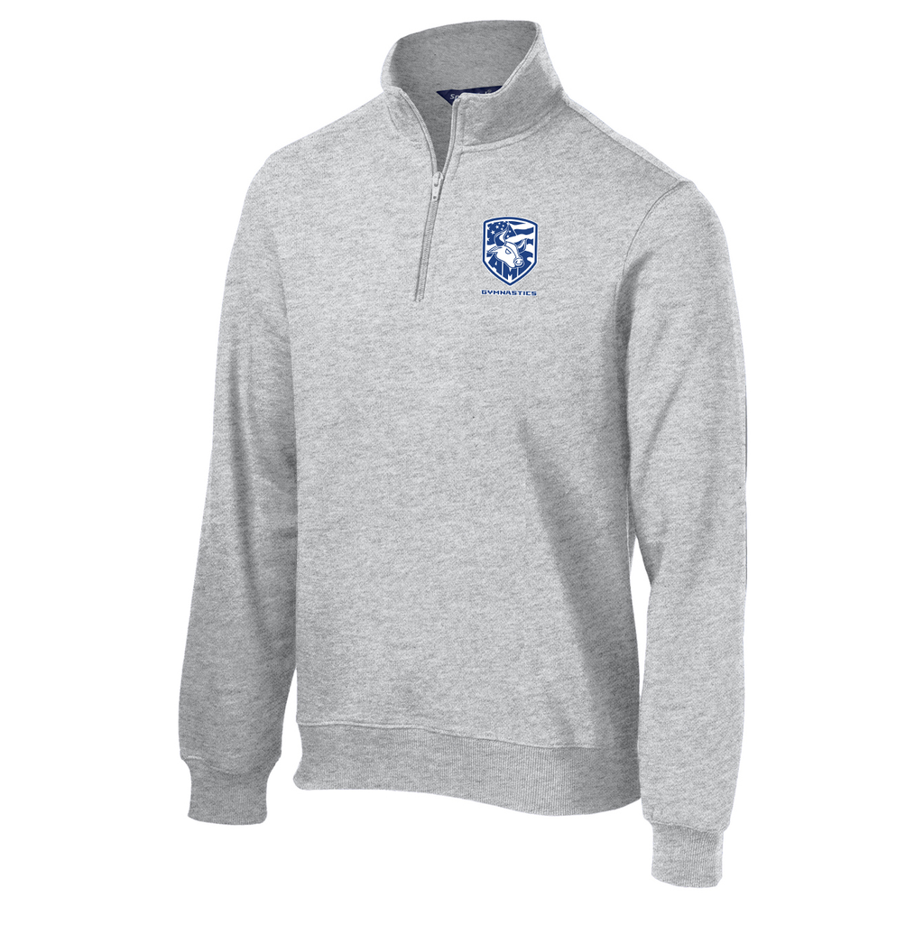 Accompsett Gymnastics 1/4 Zip Fleece