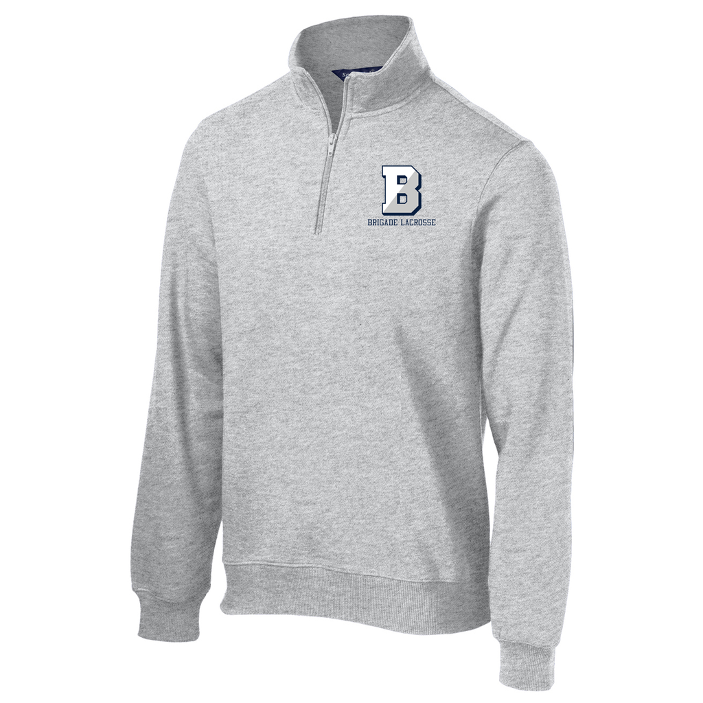 Brigade Lacrosse 1/4 Zip Fleece