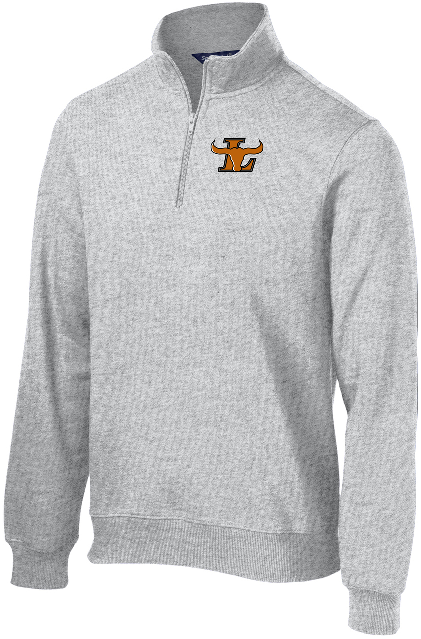 Lanier Baseball 1/4 Zip Fleece