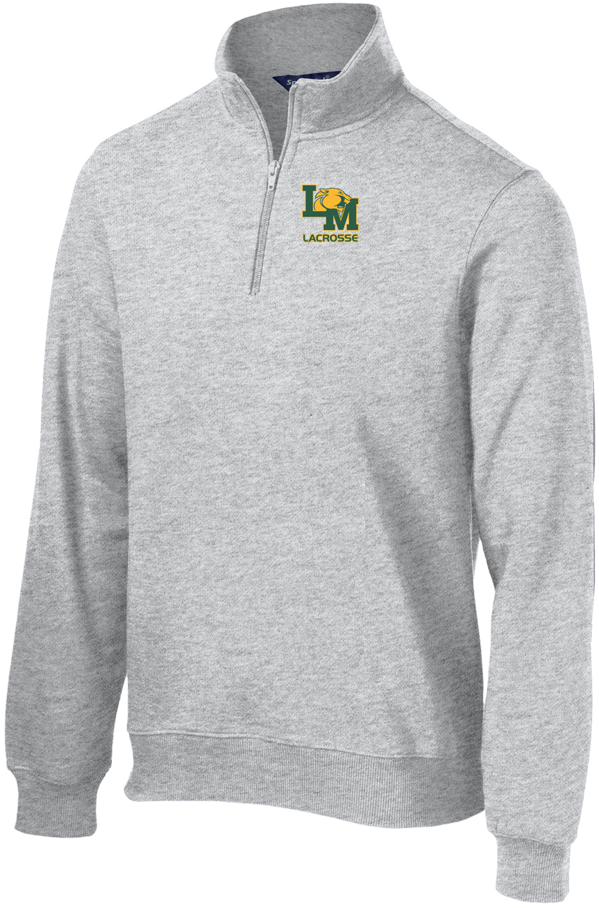 Little Miami Lacrosse Athletic Heather 1/4 Zip Fleece