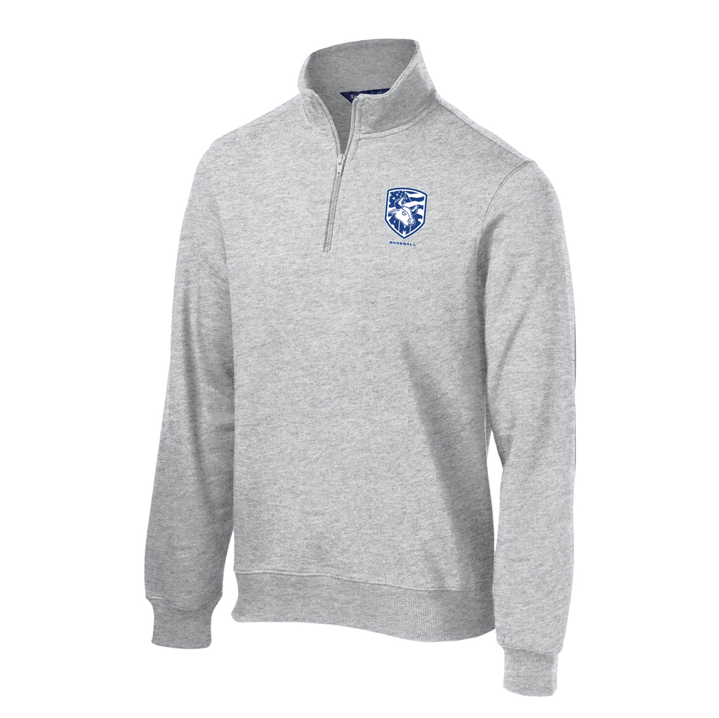 Accompsett Baseball  1/4 Zip Fleece