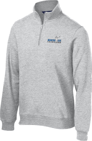 Huntsville Lacrosse Athletic Heather 1/4 Zip Fleece