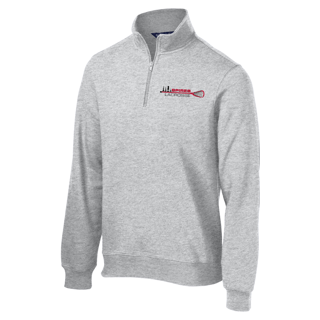 Spires Lacrosse  1/4 Zip Fleece