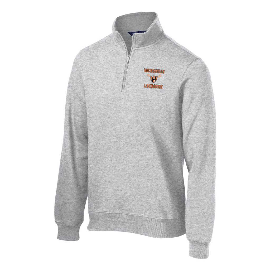Hicksville Lacrosse  1/4 Zip Fleece