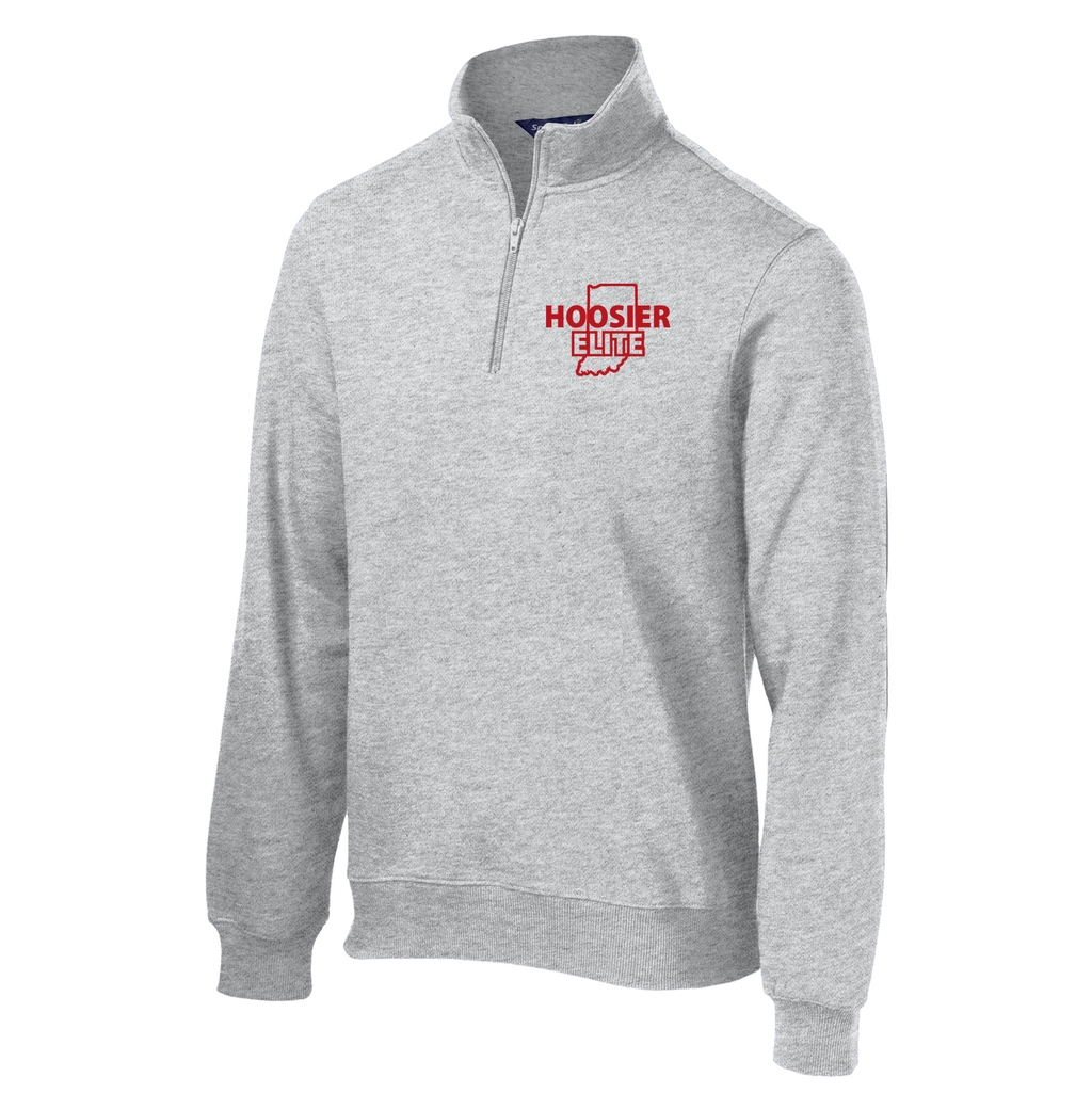 Hoosier Elite Basketball 1/4 Zip Fleece