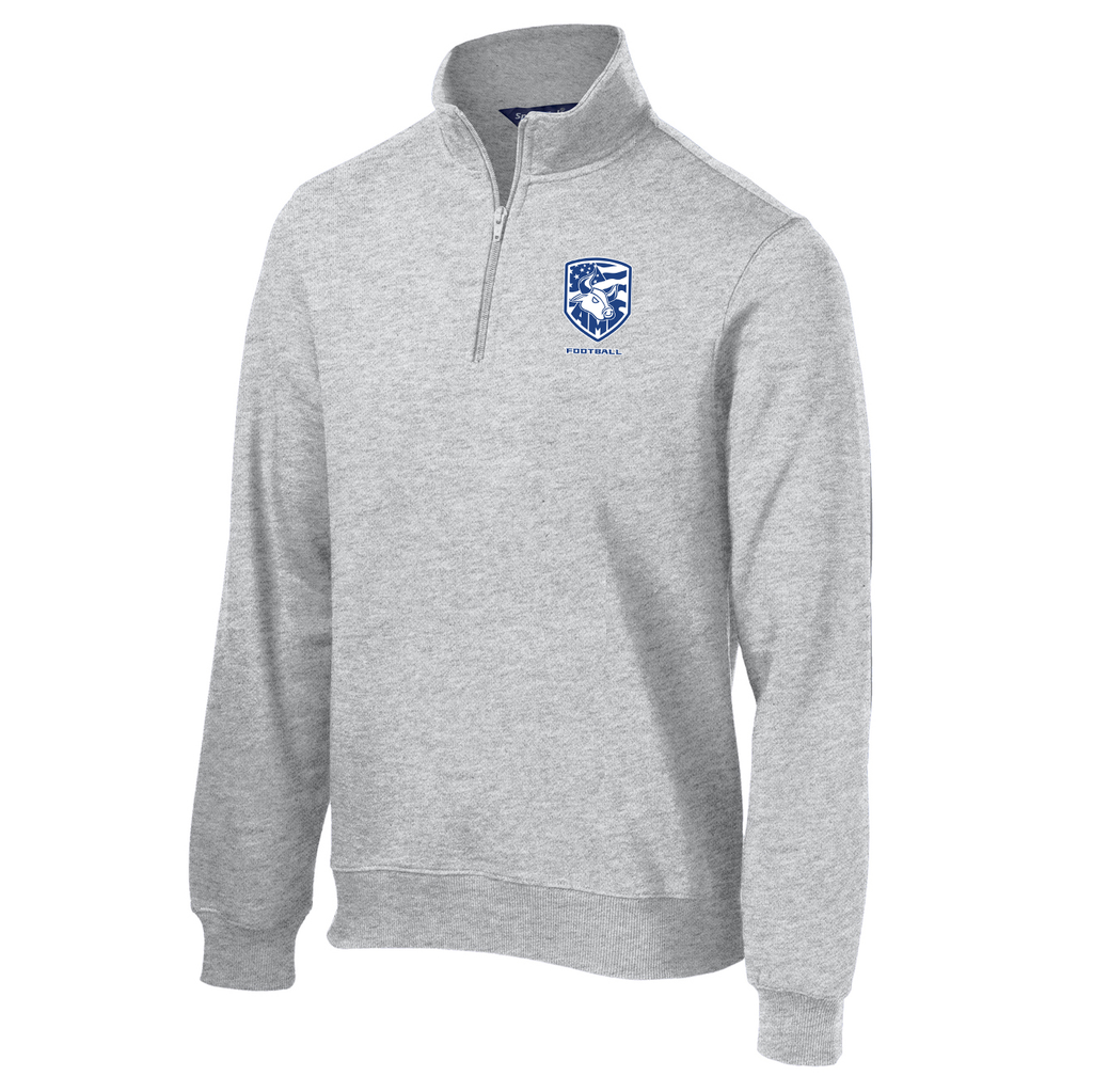 Accompsett Football 1/4 Zip Fleece