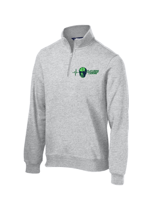 Flatliners Lacrosse Athletic Heather 1/4 Zip Fleece