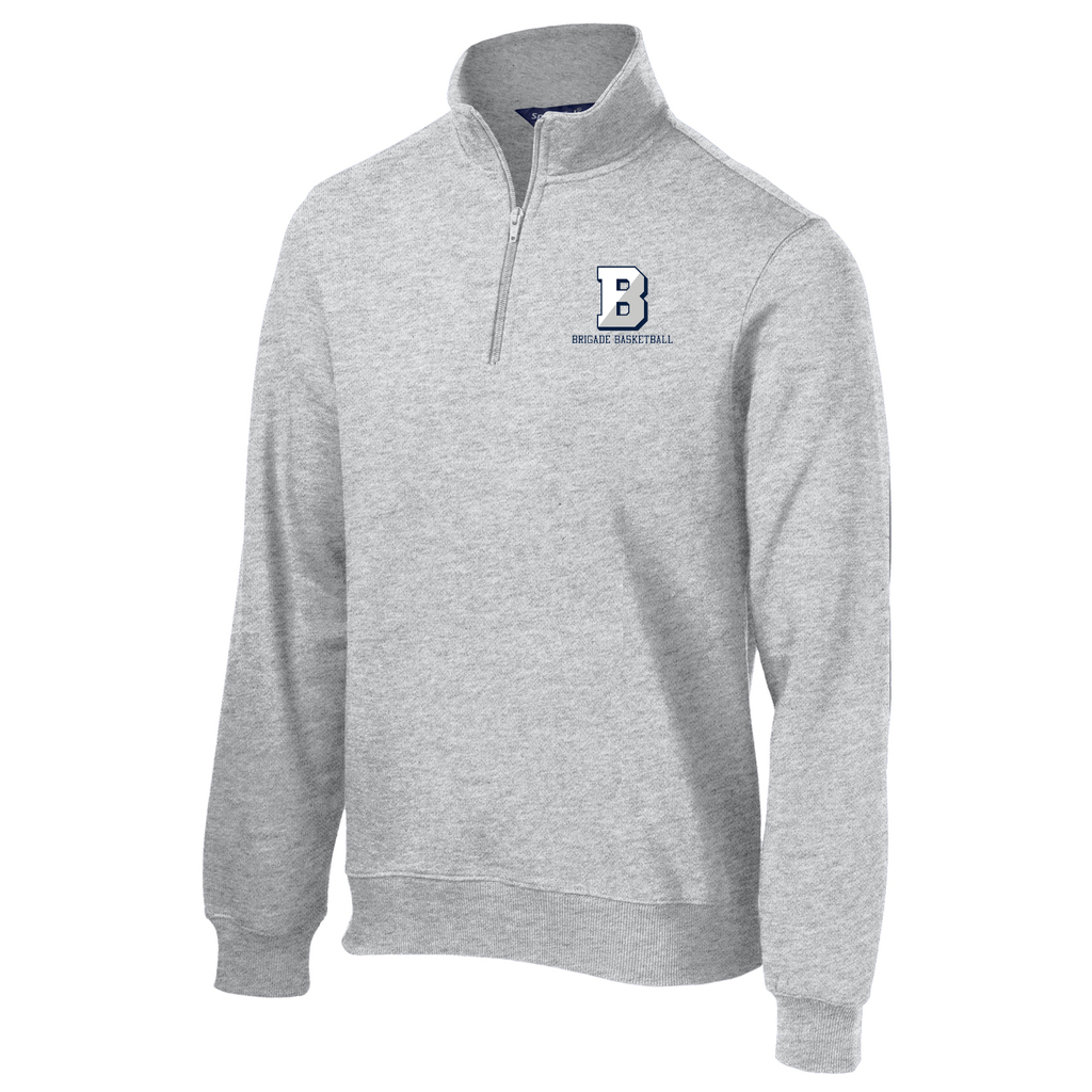 Brigade Basketball 1/4 Zip Fleece