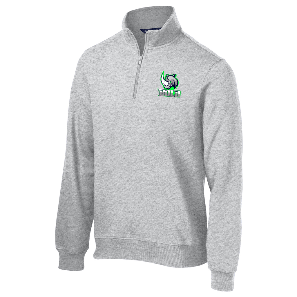 Bold Baseball 1/4 Zip Fleece