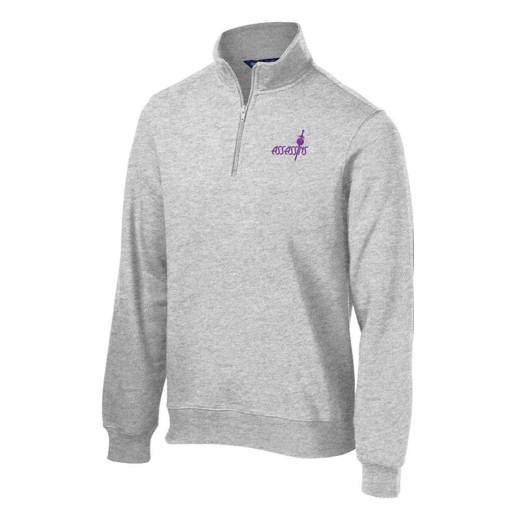 Assassins Basketball  1/4 Zip Fleece