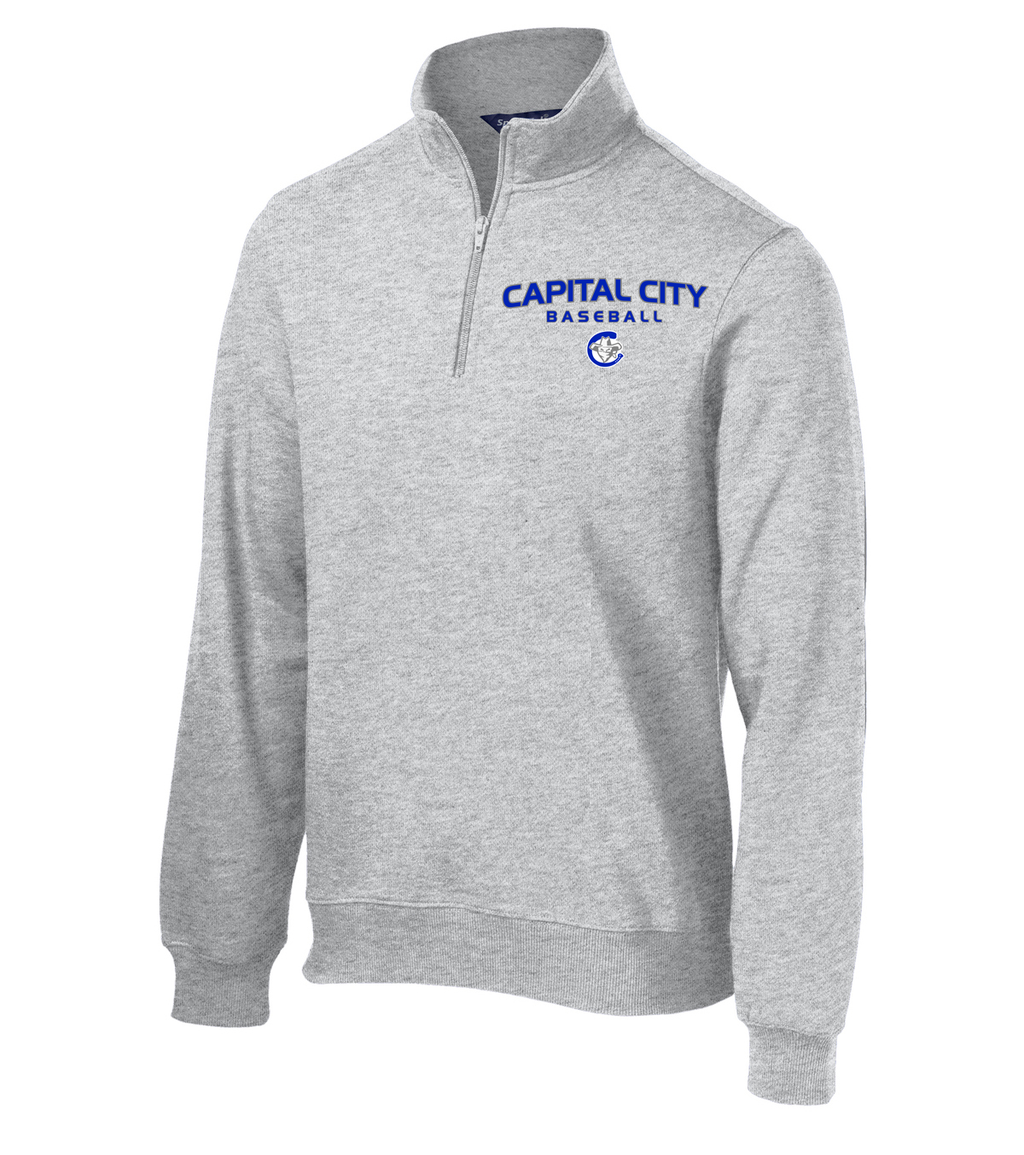 Capital City Baseball  1/4 Zip Fleece