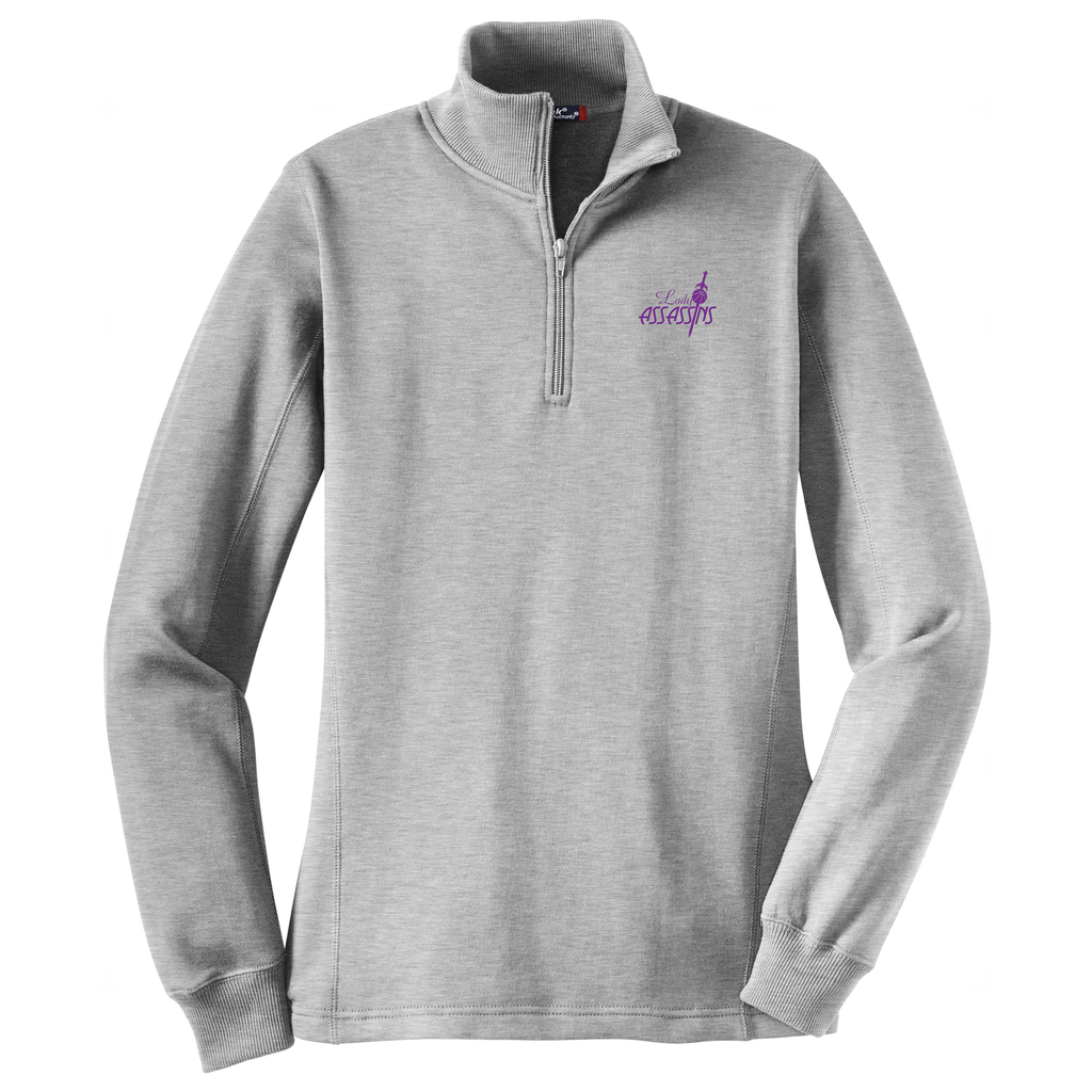 Lady Assassins Basketball Women's 1/4 Zip Fleece