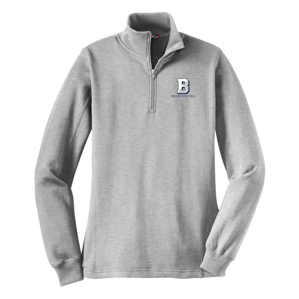 Brigade Basketball Women's 1/4 Zip Fleece