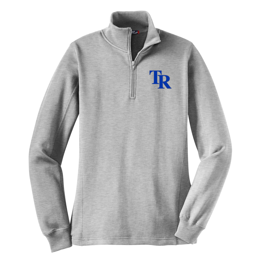 T-Rex Baseball Women's 1/4 Zip Fleece