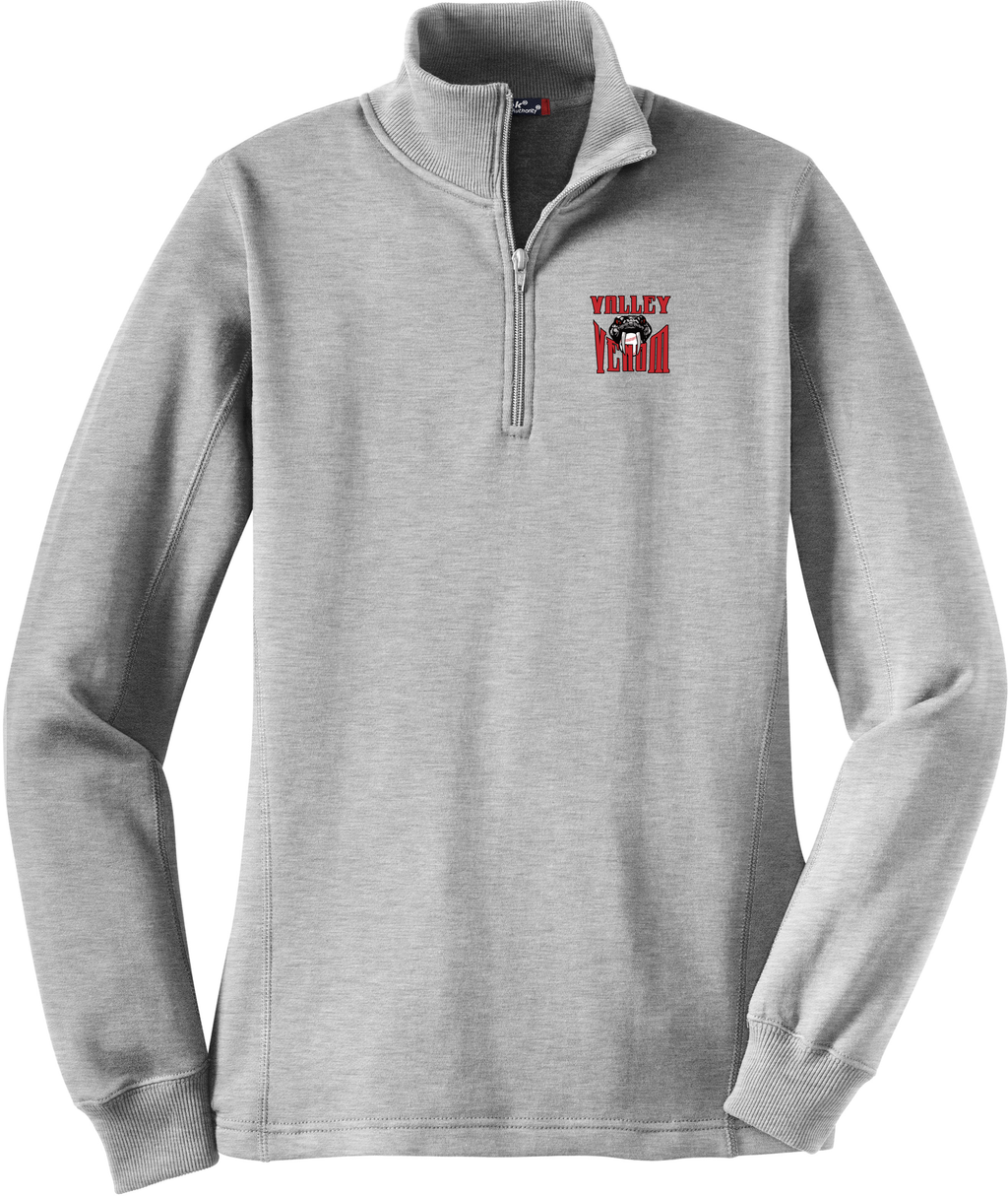 Valley Venom Baseball Women's 1/4 Zip Fleece