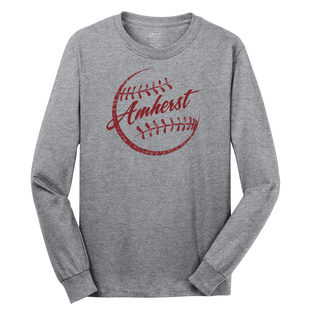 Amherst  Softball Cotton Long Sleeve Shirt