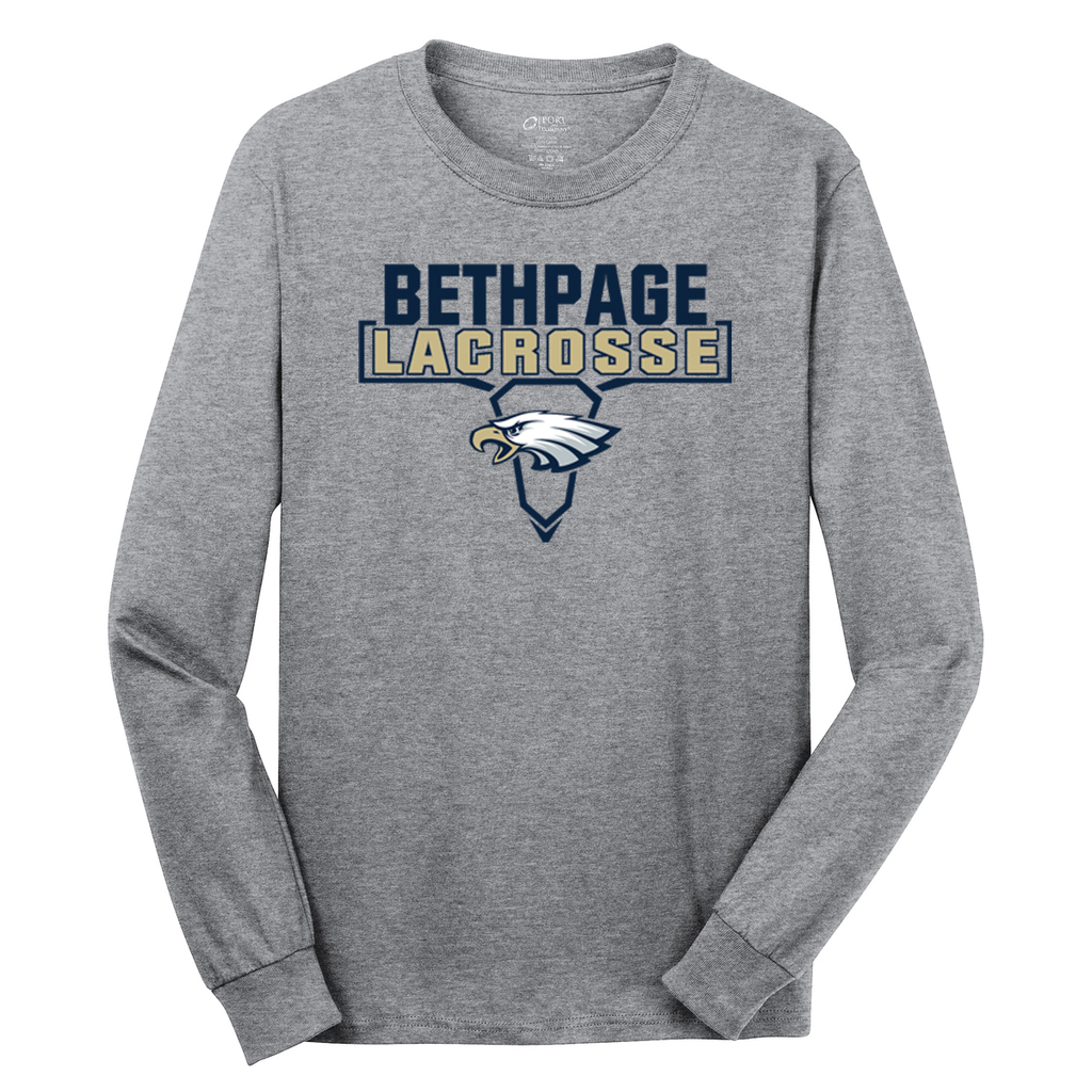 Bethpage HS Lacrosse Cotton Long Sleeve Shirt