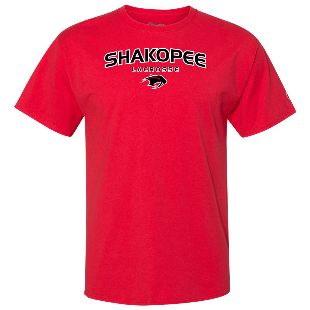 Shakopee Lacrosse Champion Short Sleeve T-Shirt