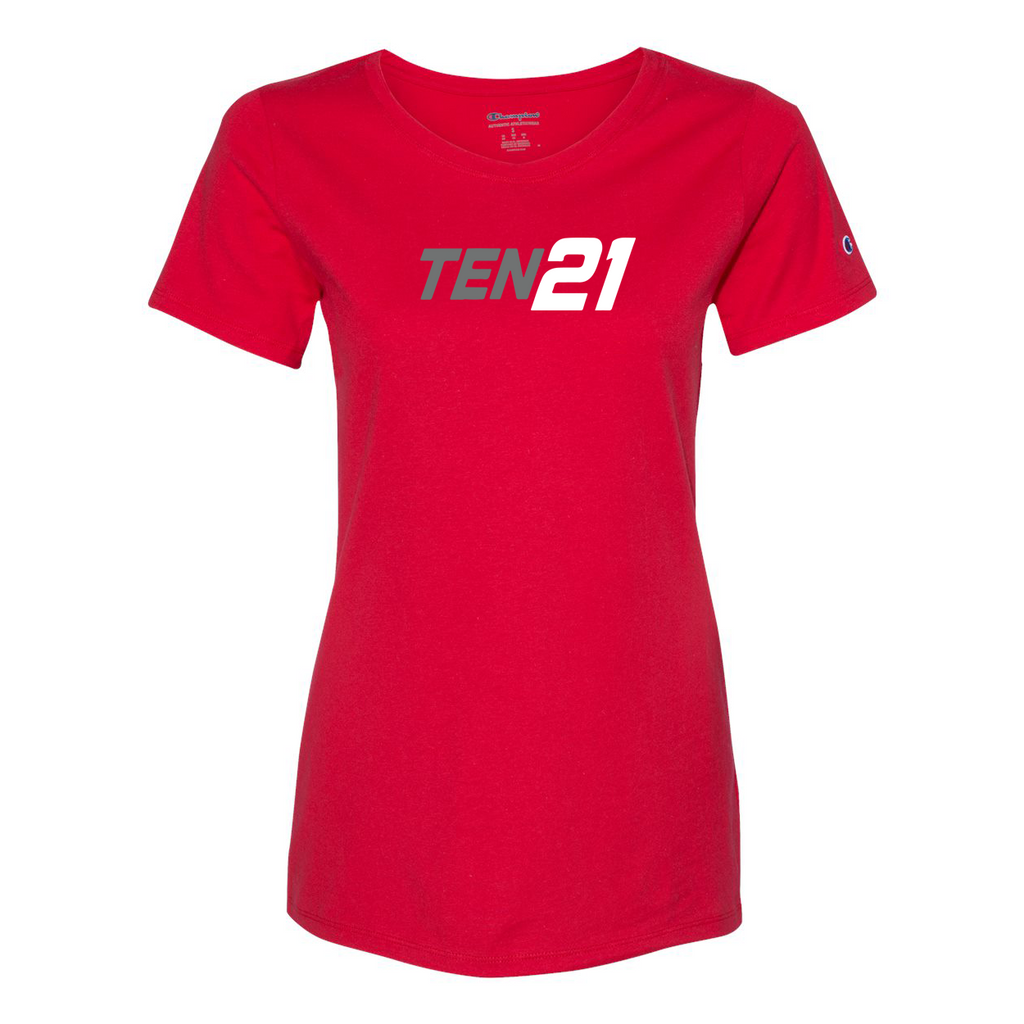TEN21 Lacrosse Champion Womens T-Shirt