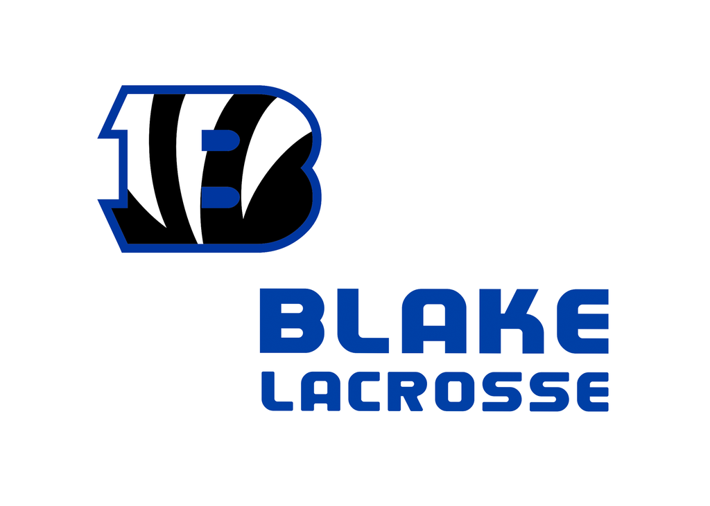 Blake Lacrosse Sticker 2-Pack