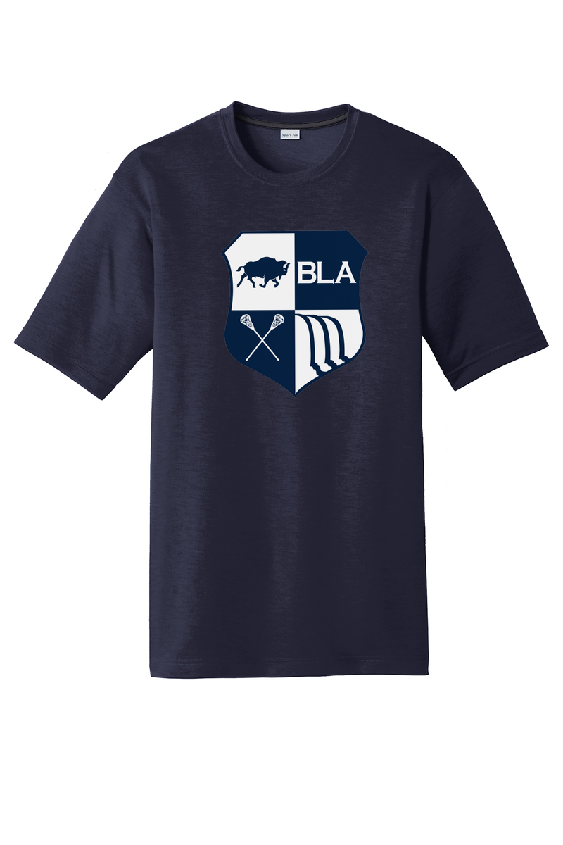 Buffalo Lacrosse Academy Cotton Feel Performance T-Shirt