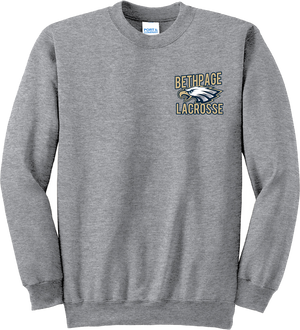 Bethpage Lacrosse Grey Crew Neck Sweatshirt