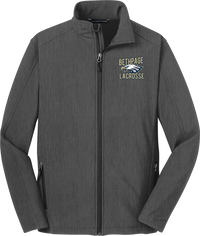 Bethpage Lacrosse Charcoal Soft Shell Jacket