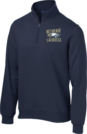 Bethpage Lacrosse Navy 1/4 Zip Fleece