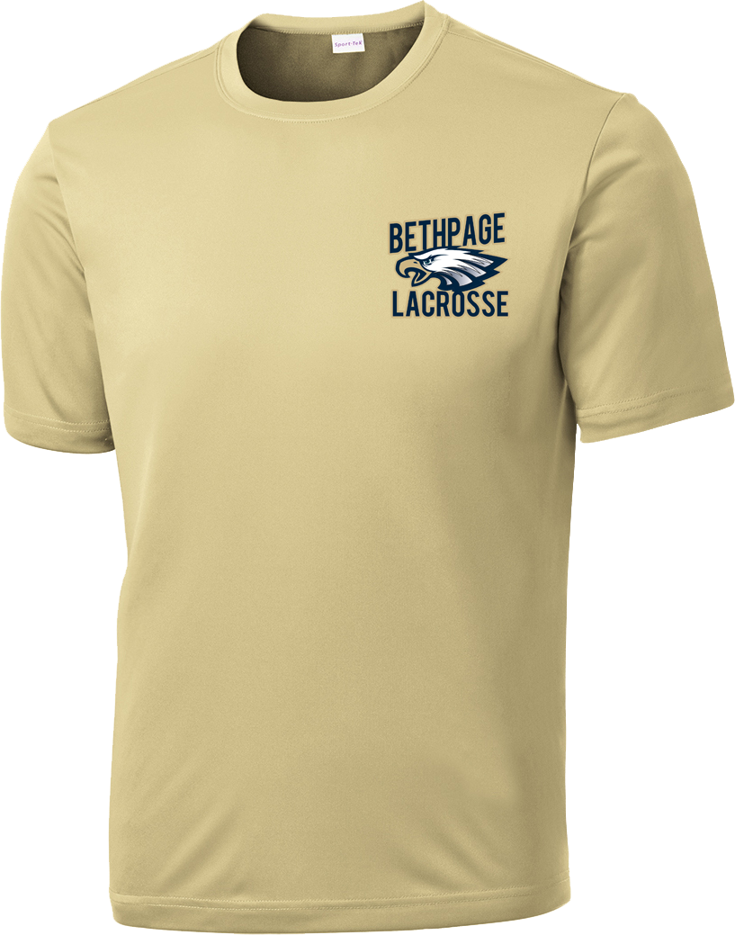Bethpage Lacrosse Vegas Gold Performance T-Shirt