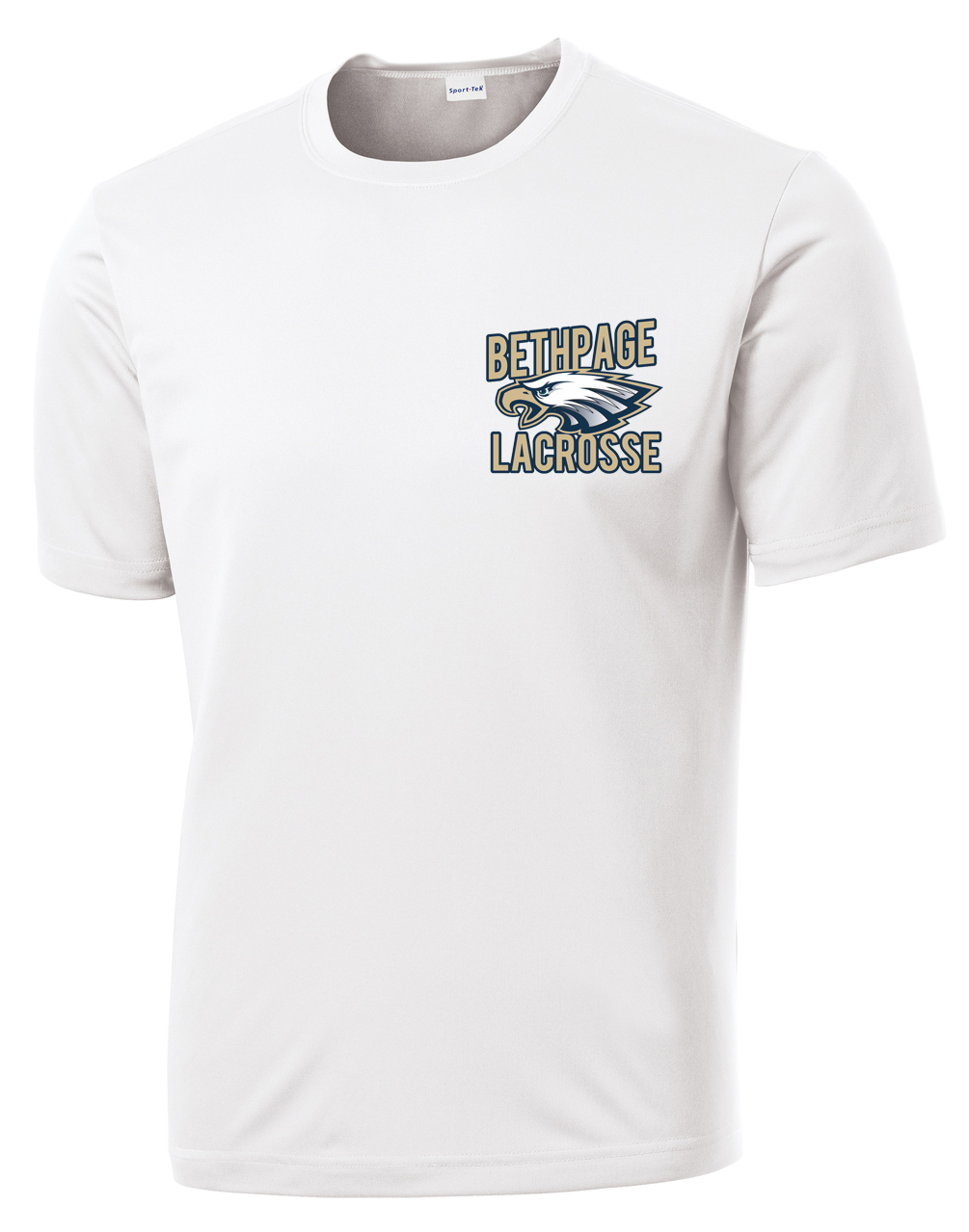 Bethpage Lacrosse White Performance T-Shirt