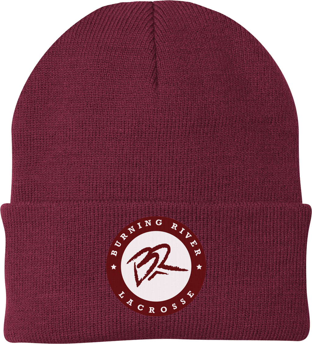 Burning River Knit Beanie