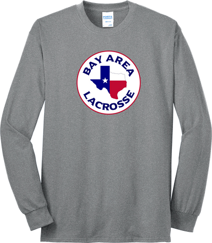Bay Area Lacrosse Grey Long Sleeve T-Shirt