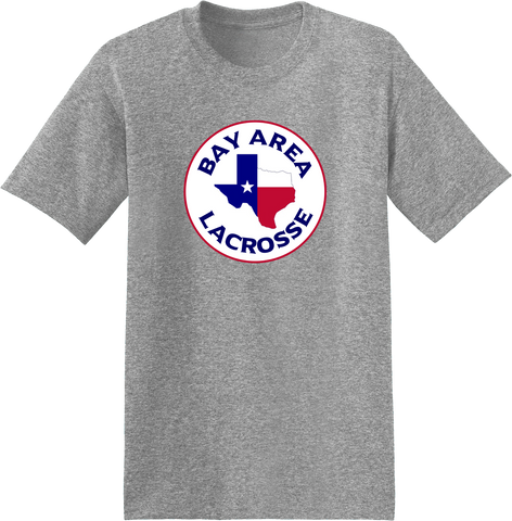 Bay Area Lacrosse Grey T-Shirt