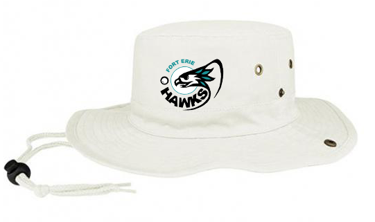 Fort Erie Hawks Beige Bucket Hat