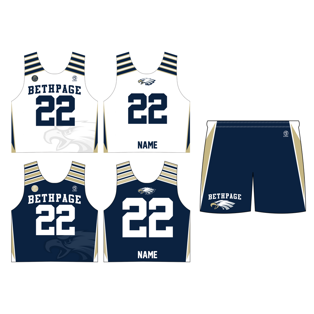 Bethpage Lacrosse Boys 2-Piece Uniform Package (Shipping Included)