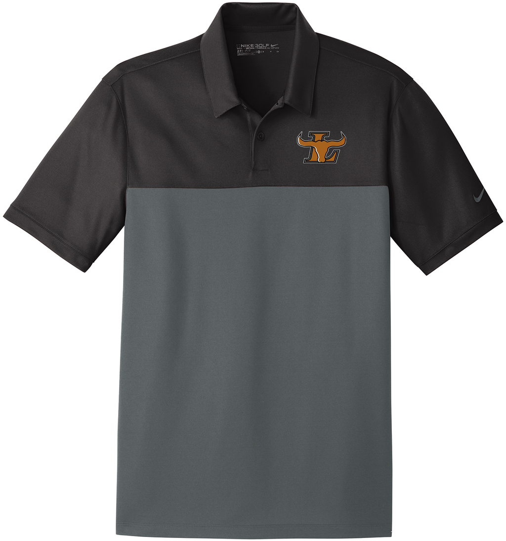 Lanier Baseball Nike Dri-FIT Colorblock Polo