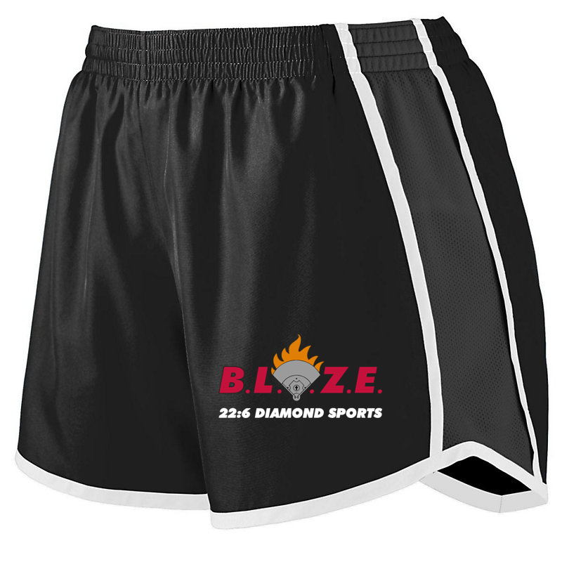 BLAZE 22:6 Diamond Sports Girls Pulse Shorts