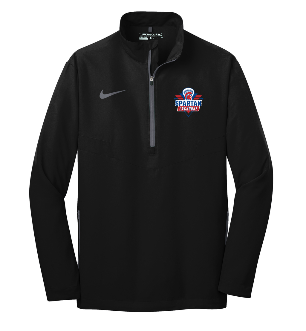 Bixby Youth Lacrosse Nike 1/2 Zip Wind Shirt